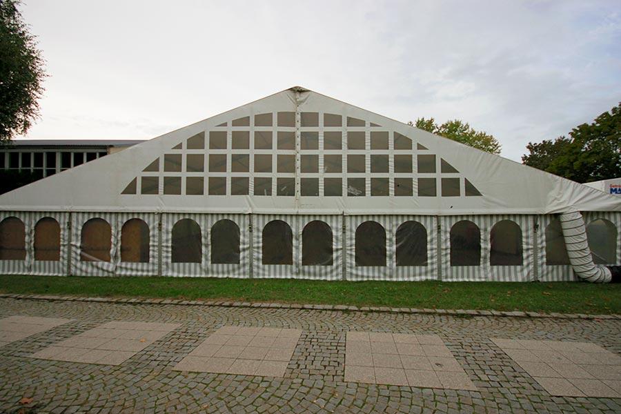 Unsere Festzelte auf der Herrenberger Herbstschau 2016